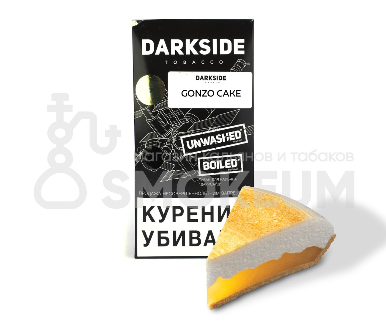 Табак Darkside (Medium) - Gonzo cake (Чизкейк) 250 гр