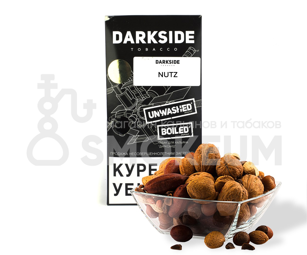 Табак Darkside (Medium) - Nutz (Орех) 250 гр
