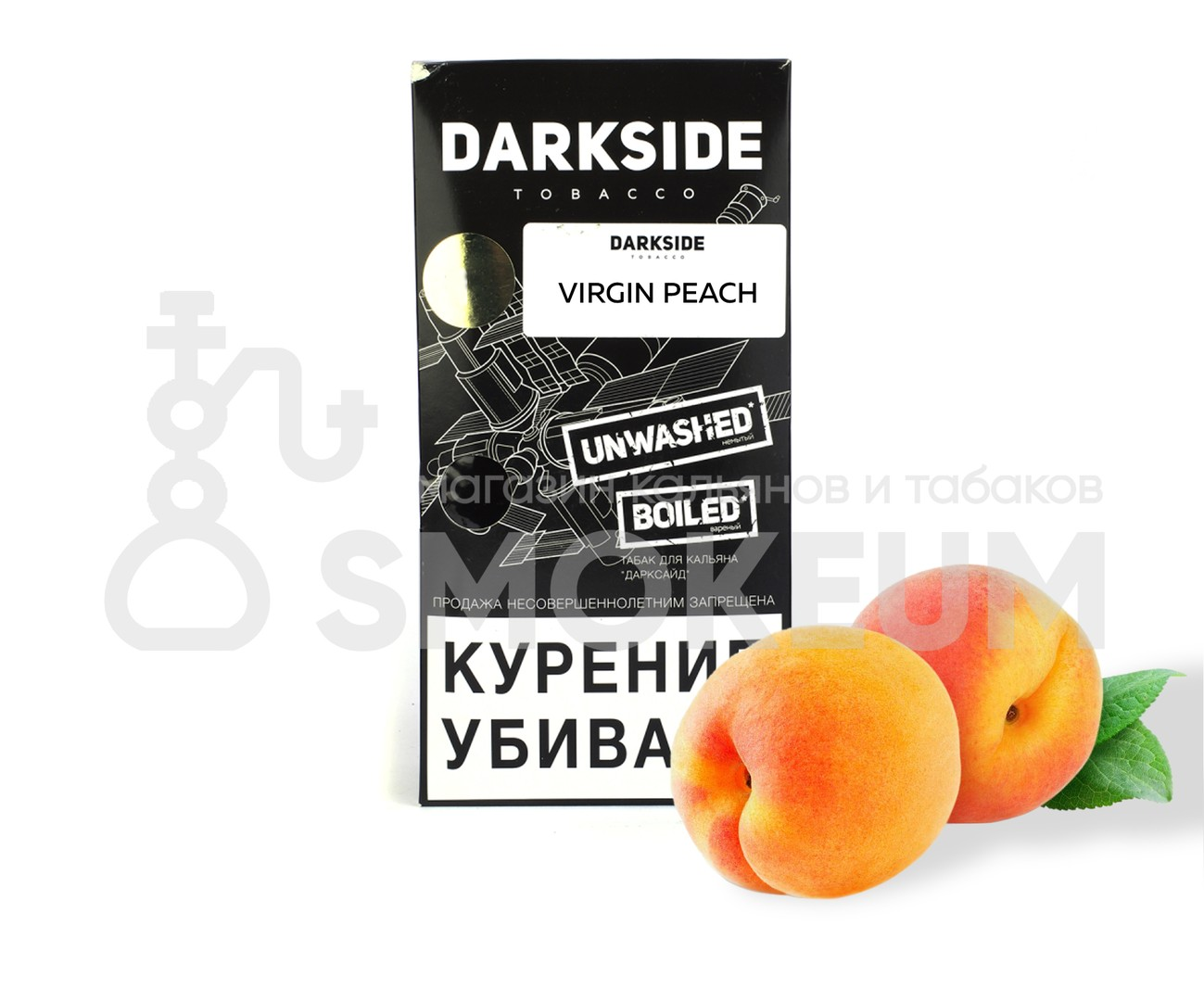 Табак Darkside (Medium) - Virgin Peach (Персик) 250 гр