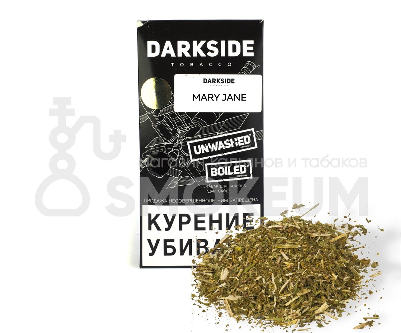 Табак Darkside (Medium) - Mary Jane (Травяной вкус) 100 гр