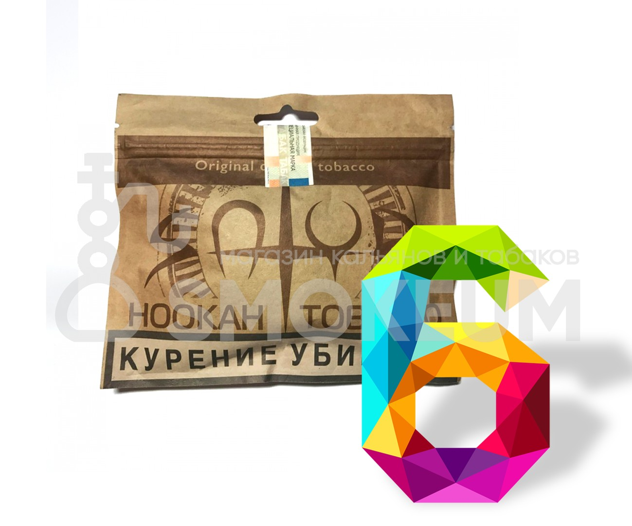 Табак Satyr Craft - 6 (Шесть) 100 гр