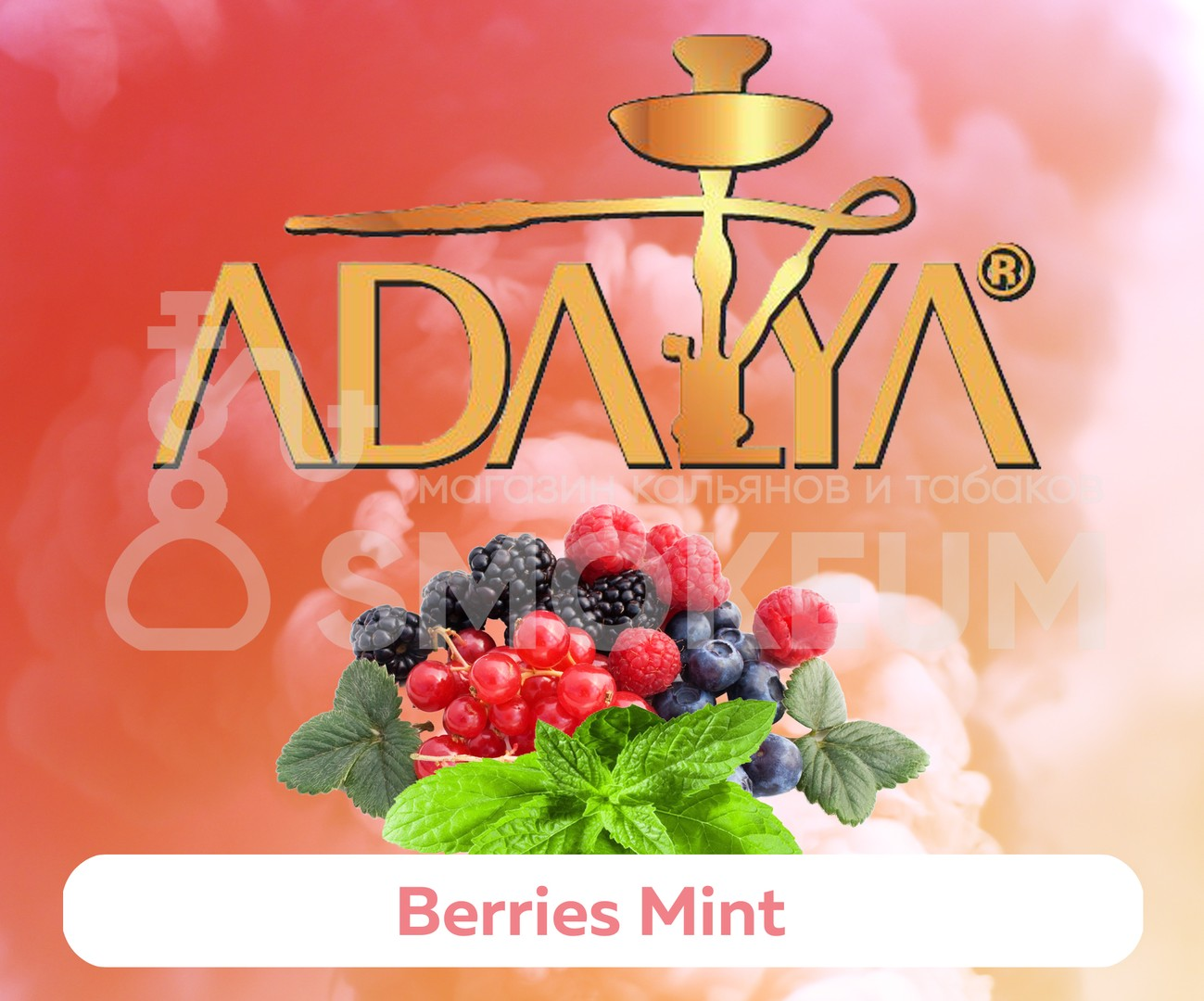 Табак Adalya - Berries Mint (Черника с мятой) 50 гр