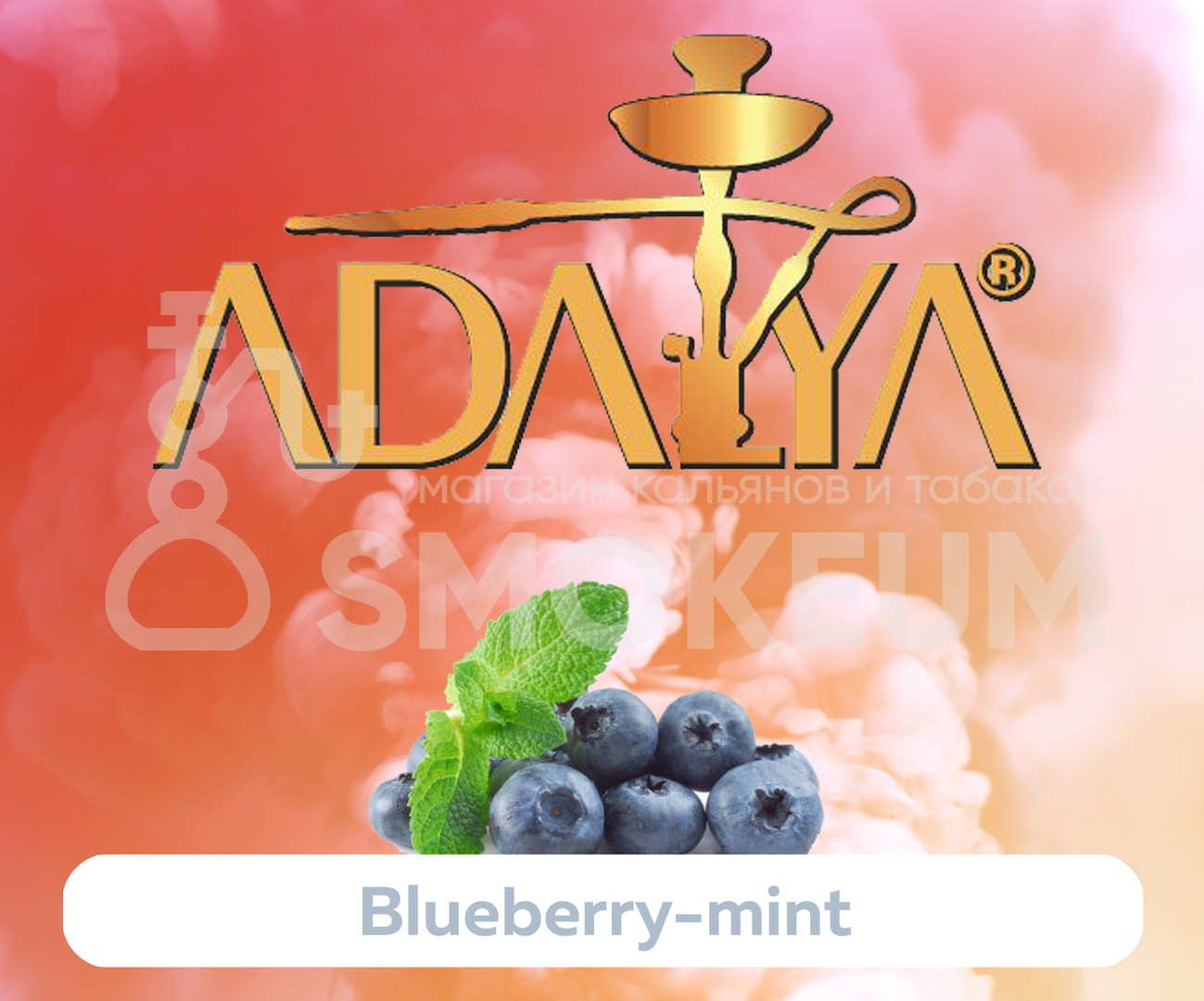 Табак Adalya - Blueberry Mint (Черника с мятой) 50 гр